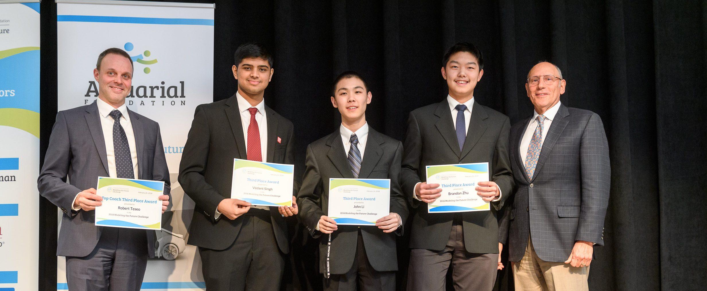 Team Wheatley A - Award