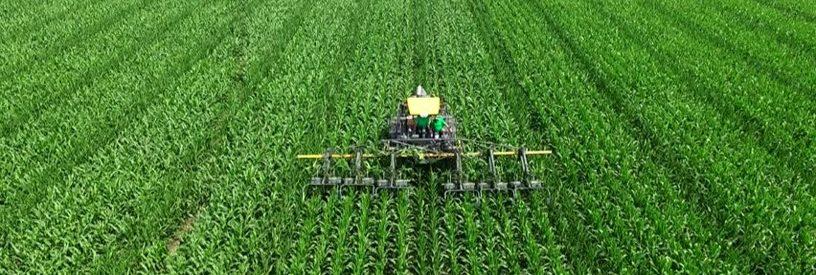 Crop Insurance Scenario - Corn-tractor